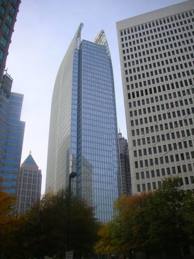 1180 Peachtree is listed (or ranked) 2 on the list List of Famous Atlanta Buildings & Structures