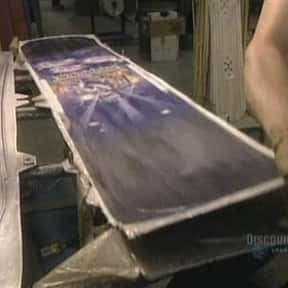 Aluminum Foil, Snowboards, Con is listed (or ranked) 23 on the list Full List of How It's Made Episodes
