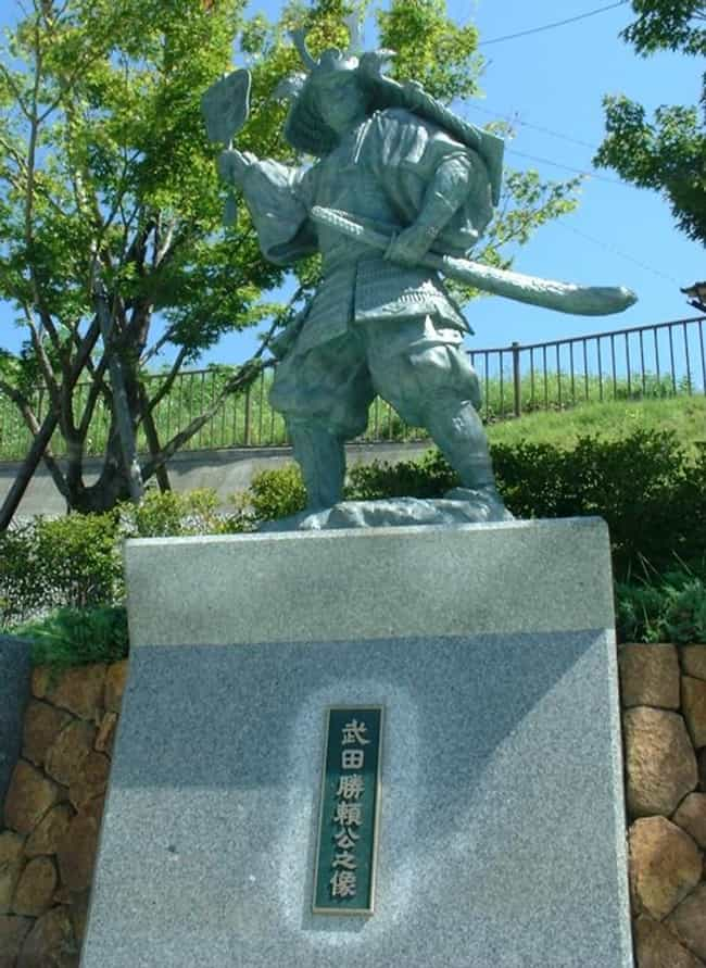 Takeda Katsuyori is listed (or ranked) 4 on the list Famous People Who Died of Seppuku