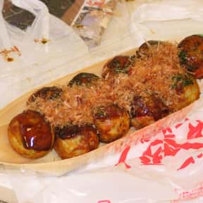 Takoyaki is listed (or ranked) 14 on the list The Best Types of Japanese Food
