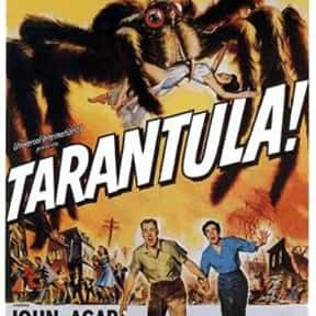 Tarantula is listed (or ranked) 22 on the list The Best Sci-Fi Movies of the 1950s
