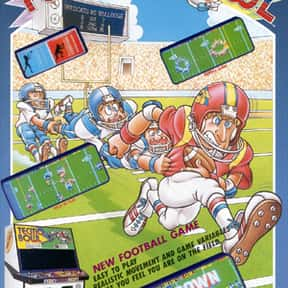 Tecmo Bowl is listed (or ranked) 18 on the list The Best American Football Games of All Time