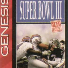 Tecmo Super Bowl III: Final Ed is listed (or ranked) 12 on the list The Best American Football Games of All Time