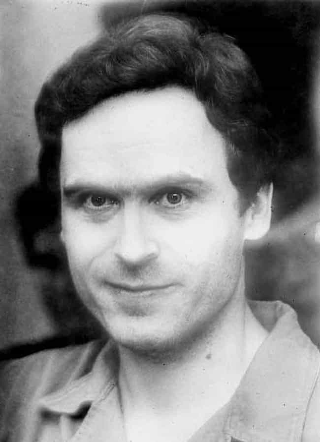 Ted Bundy is listed (or ranked) 1 on the list 14 Charming Serial Killers, Murderers, and Criminals