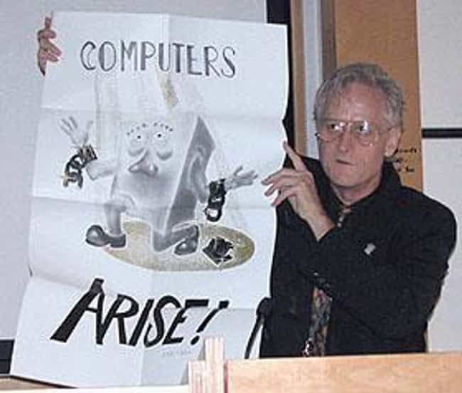 Ted Nelson is listed (or ranked) 3 on the list List of Famous Information Technologists
