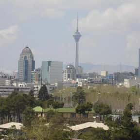 Tehran is listed (or ranked) 23 on the list The World's Most Densely Populated Places