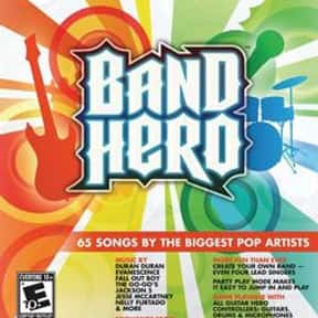 Band Hero is listed (or ranked) 18 on the list List of All Simulation Video Games