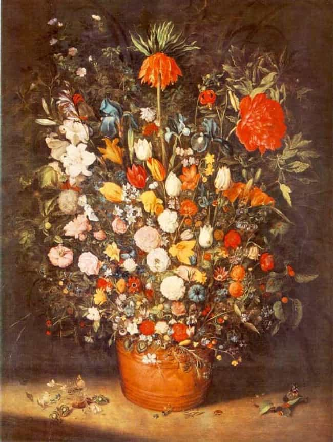 Bouquet is listed (or ranked) 3 on the list List of Famous Still Life Paintings