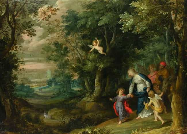 Flight into Egypt is listed (or ranked) 1 on the list Famous Flight into Egypt Art