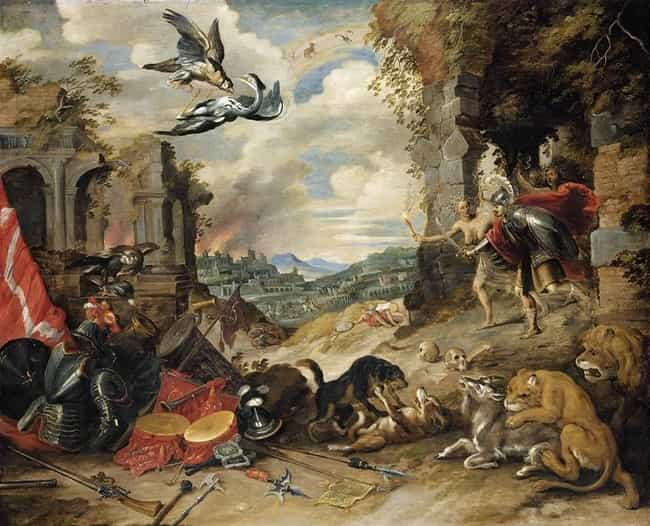 Allegory of War is listed (or ranked) 2 on the list List of Famous Allegory Paintings