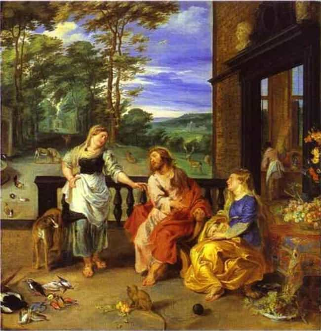 Christ in the House of M... is listed (or ranked) 3 on the list Famous Peter Paul Rubens Paintings