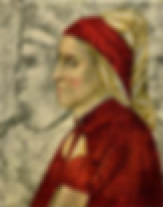 Dante Alighieri is listed (or ranked) 2 on the list List of Famous Giotto Di Bondone Artwork