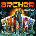 Archer is listed (or ranked) 9 on the list The Funniest Shows on TV Right Now