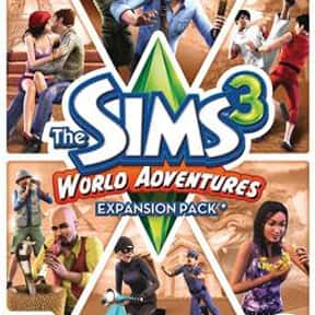 The Sims 3: World Adventures is listed (or ranked) 7 on the list The Best Life Simulation Games of All Time
