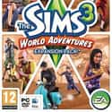 The Sims 3: World Adventures is listed (or ranked) 5 on the list The Best Life Simulation Games of All Time