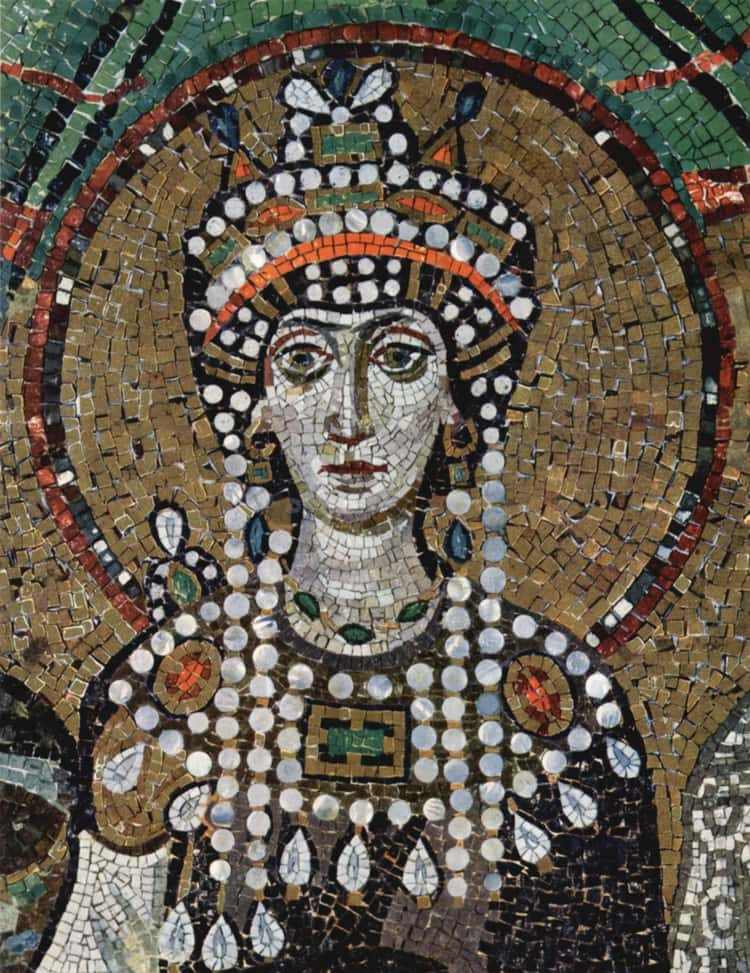 Theodora Started As An Actor Who Became An Empress