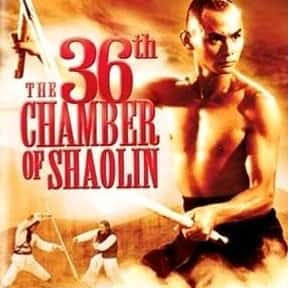 The 36th Chamber of Shaolin is listed (or ranked) 3 on the list The Best Kung Fu Movies of the 1970s