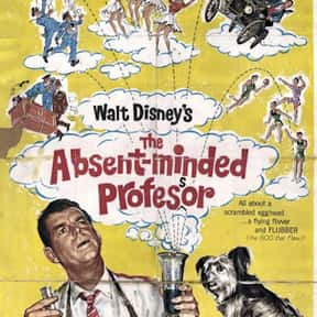 The Absent-Minded Professor is listed (or ranked) 10 on the list The Best Disney Science Fiction Movies Of All Time