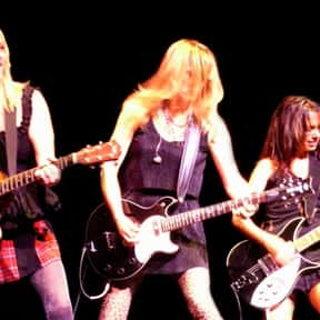 The Bangles is listed (or ranked) 18 on the list The Greatest Chick Rock Bands Ever