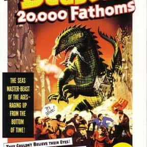 The Beast from 20,000 Fathoms is listed (or ranked) 15 on the list The Best Sci-Fi Movies of the 1950s