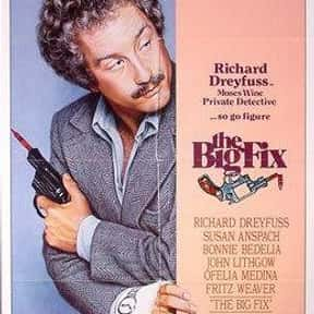 The Big Fix is listed (or ranked) 14 on the list The Best Richard Dreyfuss Movies