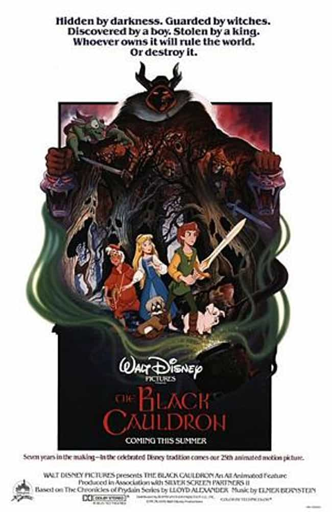 The Black Cauldron is listed (or ranked) 4 on the list Movies & TV Shows to Watch If You Love Harry Potter