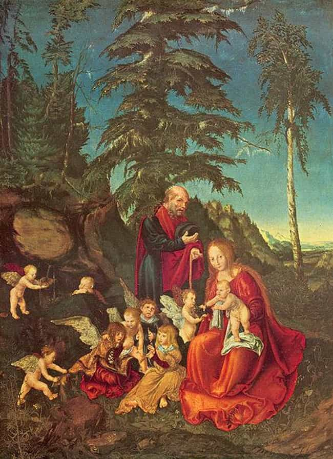 Rest of the Virgin during The ... is listed (or ranked) 3 on the list Famous Flight into Egypt Art
