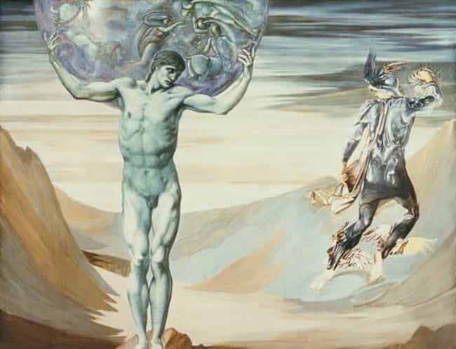 Atlas Turned to Stone is listed (or ranked) 1 on the list Famous Perseus Art