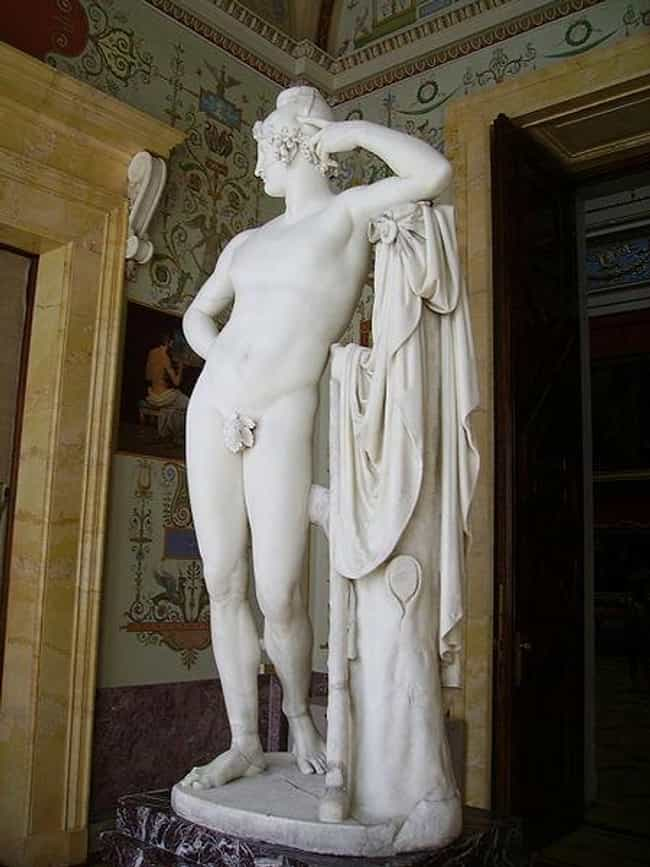 Paris is listed (or ranked) 1 on the list Famous Antonio Canova Sculptures
