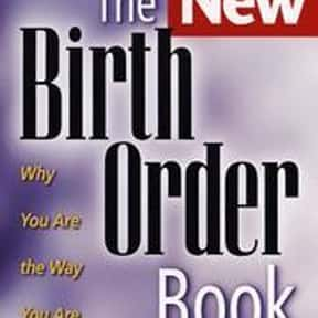 The new birth order book is listed (or ranked) 19 on the list The Best Books About Developmental Psychology