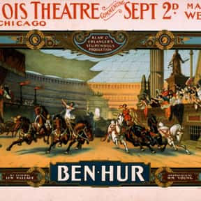 Ben-Hur is listed (or ranked) 19 on the list The Best Plays Based on Books