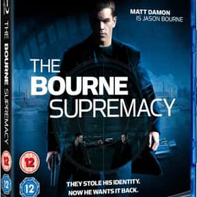 The Bourne Supremacy is listed (or ranked) 9 on the list The Best Spy Movies Based on Books