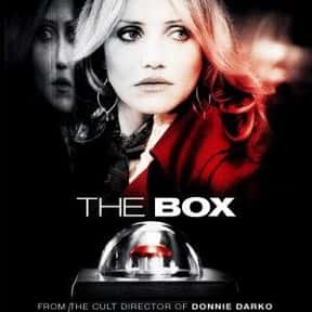 The Box is listed (or ranked) 25 on the list The Best Science Fiction-y Psychological Dramas