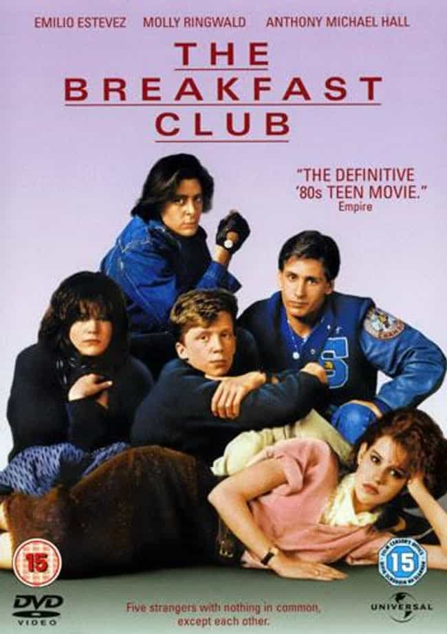The Breakfast Club is listed (or ranked) 4 on the list The Best Movies That (Mostly) Take Place In A Single Location