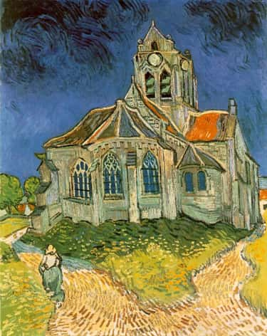 The Church at Auvers is listed (or ranked) 2 on the list The Greatest Famous Post-Impressionist Paintings