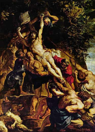 The Elevation of the Cross is listed (or ranked) 1 on the list List of Famous Religious Image Paintings