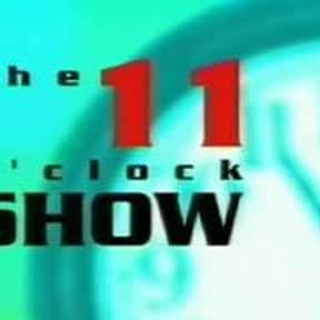 The 11 O'Clock Show is listed (or ranked) 11 on the list The Best Ricky Gervais Shows and TV Series