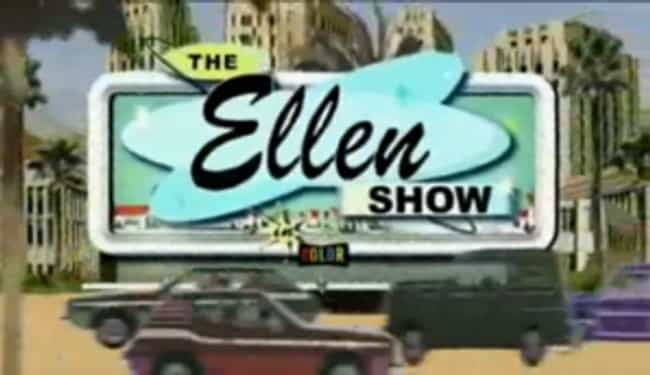 The Ellen Show is listed (or ranked) 4 on the list Ellen DeGeneres Shows and TV Series