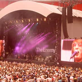The Enemy is listed (or ranked) 9 on the list List of Famous Bands from Coventry