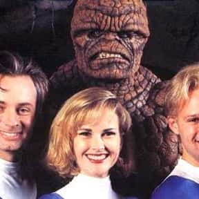 The Fantastic Four is listed (or ranked) 23 on the list The Best Superhero Movies of the '90s