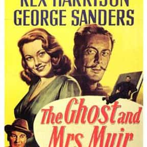 The Ghost and Mrs. Muir is listed (or ranked) 4 on the list The Best Romance Movies of the 1940s