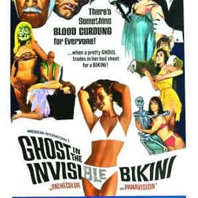 The Ghost in the Invisible Bik is listed (or ranked) 15 on the list The Best '60s Beach Movies