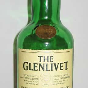 Glenlivet is listed (or ranked) 13 on the list The Best Top Shelf Alcohol Brands