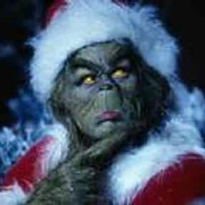 Grinch is listed (or ranked) 5 on the list The Best Green Characters