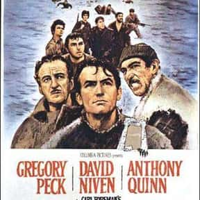 The Guns of Navarone is listed (or ranked) 21 on the list The Best Oscar-Nominated Movies of the 1960s