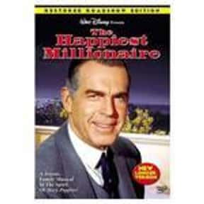 The Happiest Millionaire is listed (or ranked) 12 on the list The BestRomanticDisney Movies