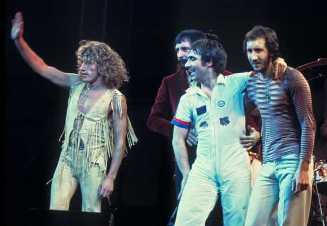 The Who is listed (or ranked) 1 on the list John Varvatos's Top 5 Favorite Bands