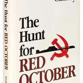 The Hunt for Red October is listed (or ranked) 1 on the list The Best Tom Clancy Books of All Time
