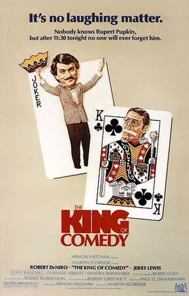 The King of Comedy is listed (or ranked) 1 on the list The Best Movies About Comedians And Stand-Up Comics