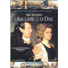 The Lady and the Duke is listed (or ranked) 22 on the list The Best Period Movies Set in the 18th Century